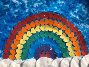 Penny rainbow