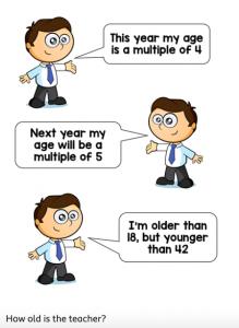 Maths challenge 1