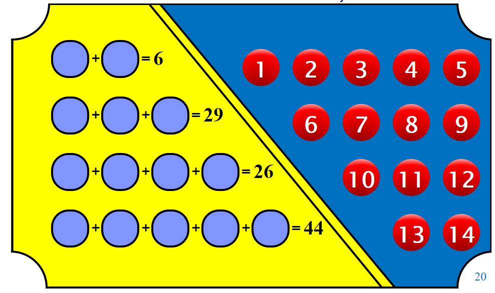 maths starter