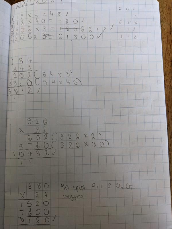 Izzy maths