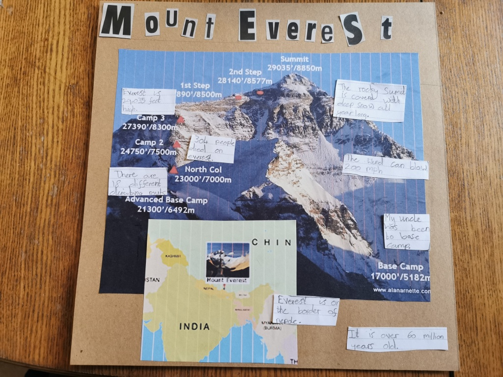 WC mount everest