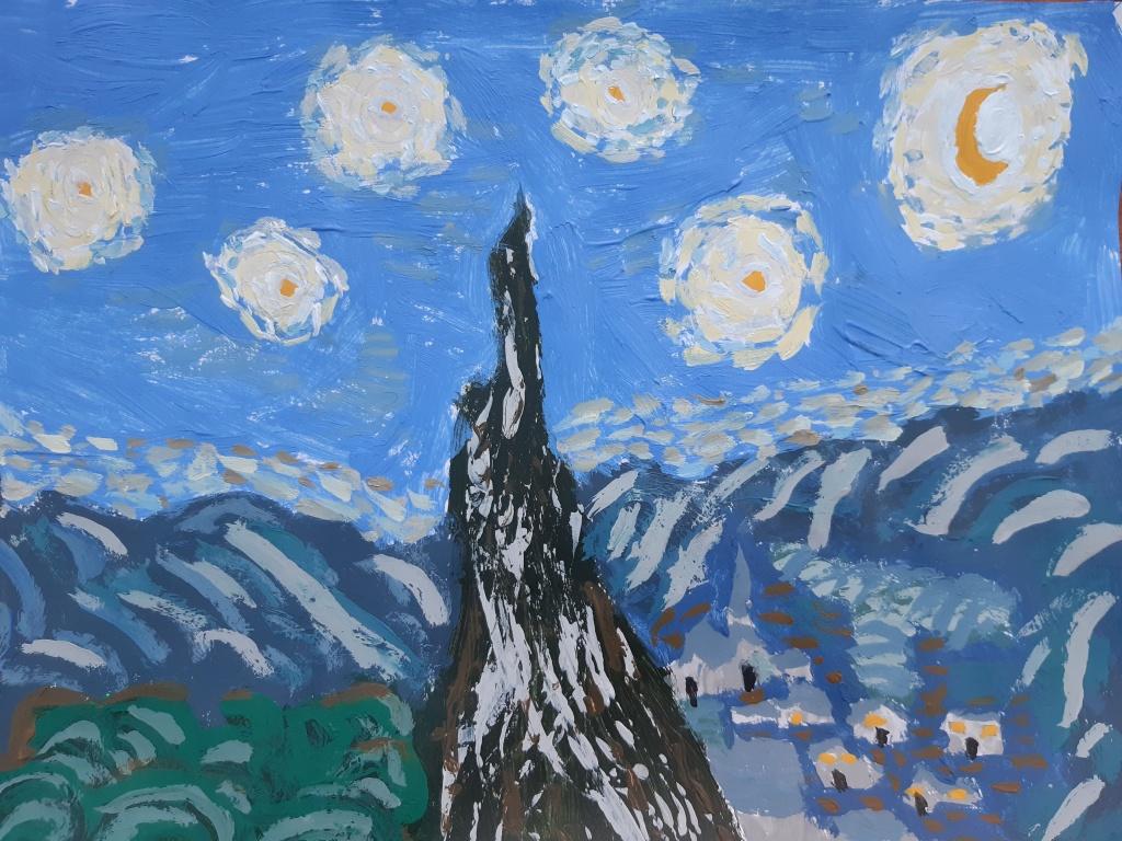 Olivia - Starry Night
