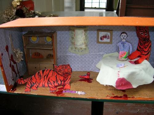 Shoebox Book (The Tiger Who Came to Tea)